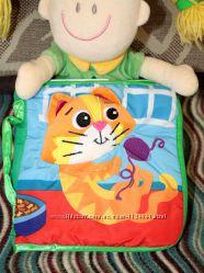 Развивающая игрушка первый подарок  малышу мягкая книжка TheKitten  Lamaze