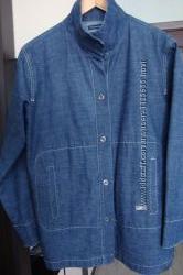 Куртка джинсовая женская без подкладки 48 р-р