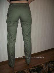 брюки весенне-осенние с декором и без