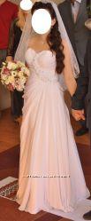 Свадебное платье с корсетом со шнуровкой