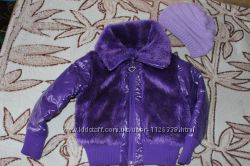 Модна курточка з хутром