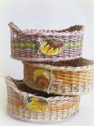корзиночка для кухни Подсолнухи