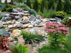 Камень для водоемов, декоративных плавательных прудов и японских садов