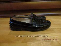 Кожаные туфли лоферы Италия Vero Cuoio
