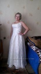 Продам свадебное платье невенчаное