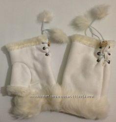 Перчатки-рукавички
