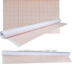 Миллиметровка для выкройки 640мм х 10м в рулоне