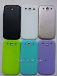 Задняя крышка на Samsung Galaxy S3 i9300, S3 i9300i duos все цвета
