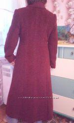 Пальто женское шерсть, размер 48