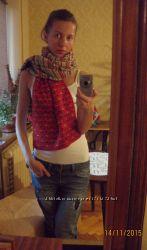 Зимовий шарф Весела Зима