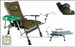 Кресло для отдыха рыбалки Elektrostatyk F5R ST&92P с обвесом