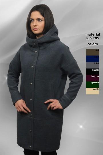 Ультрамодное оверсайзовое пальто из мягкого кашемира большая цветовая гамма