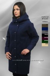 Ультрамодное оверсайзовое пальто из мягкого кашемира