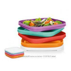 Набор тарелок для пикника 4 шт 400 мл Tupperware