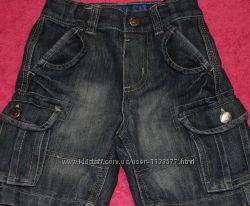 продам джинсовые шорты на модника2-3года