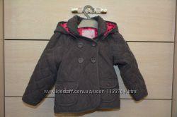 Стеганая курточка- ветровка для девочки