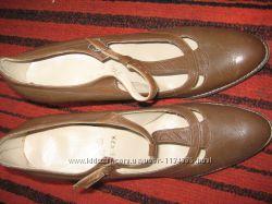 женские кожаные туфли размер 40-41