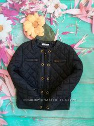 Стёганная демисезонная куртка на девочку 6-7 лет French Connection