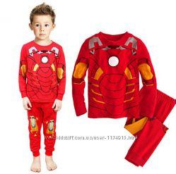 Яркая пижама для мальчика  Железный человек