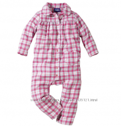 Фланелевые Пижамки- Слипы , Человечки , бренд Lupilu, Германия