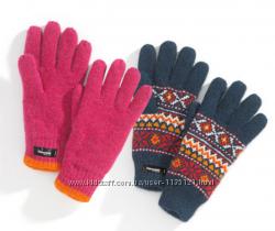 Яркие, тёплые Перчатки на утеплителе 3М Thinsulate 40, Германия