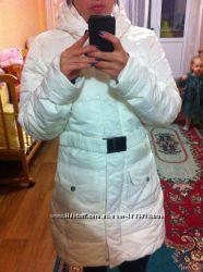 Adidas куртка-пальто пух мелкий