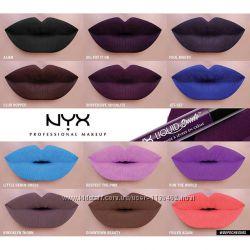 Жидкая бархатная помада NYX Liquid Suede Cream Lipstick - новые оттенки