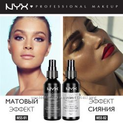 Фиксирующий спрей для макияжа NYX Make Up Setting Spray