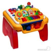 Музыкальный игровой стол 3в1Сhicco от 1-6 лет