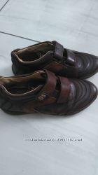 Кожаные туфли на мальчика naturino