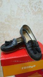 Туфли  мокасины для девочки Froddo p. 35