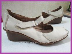 Туфли натуральная кожа CLARKS р 38