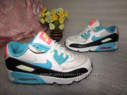 Классные кроссовки  nike air max  р 32 -33  20, 5 см вьетнам оригинал