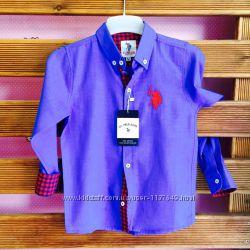 Брендовые рубашки  Polo Ralph Lauren