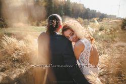 Ніжна та зручна весільна сукня