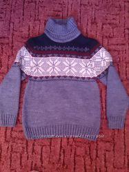 Теплый, мягкий свитер Турция 8-10 лет, размер 140