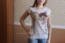 милая футболка с бемби