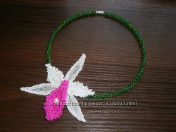 Ожерелье Орхидея