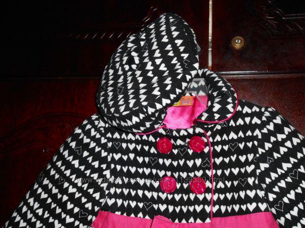 пальто на девочку 12-18 мес