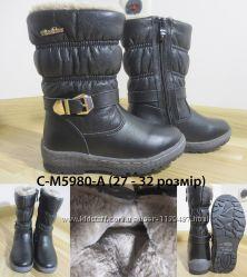 Сапожки на девочку MXM С-М5980-А, р.  27-32