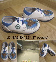 Мокасины для мальчика b&g little deer LD13А2-10, р. 22-27