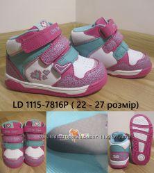 Кроссовки для девочки b&g little deer LD1115-7816P, р. 22-27