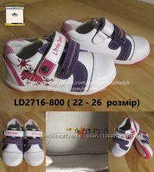 Кросівки черевики на дівчинку B&G Little Deer LD 2716-800, р. 22-26