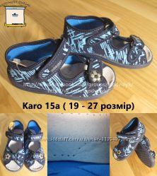 Тапочки босоніжки на хлопчика Vi-GGa-Mi Польща Karo 15a р. 18, 5-27 Капці