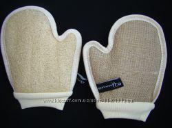 Перчатка для пилинга двухсторонняя.
