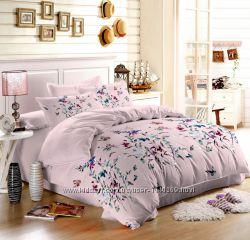 Комплекты постельного белья - ткань сатин 100 процентов хлопок