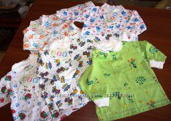 Пакет кофты для новорожденных 50, 56см. Новое