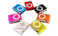 MP3 плеер с клипсой металлические