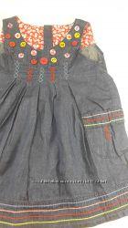 Next, Zara, Benetton из хб джинсовой ткани