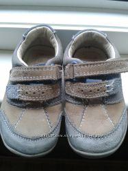 Кожаные детские кроссовки clarks, 21 р. , 13 см